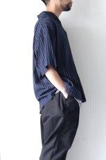 画像7: UNDECORATEDMAN / ストライプ半袖シャツ (7)