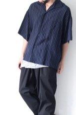 画像5: UNDECORATEDMAN / ストライプ半袖シャツ (5)