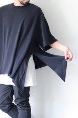 画像9: UNDECORATEDMAN / シルクネップリボンTシャツ (9)