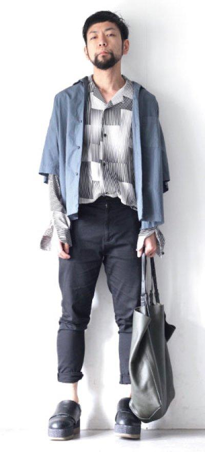 画像1: UNDECORATEDMAN / 半袖シャツ