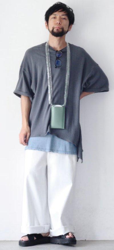 画像3: UNDECORATEDMAN / シルクネップリボンTシャツ