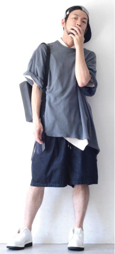 画像2: UNDECORATEDMAN / シルクネップリボンTシャツ