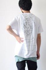画像2: S I S E / バックプリントTシャツ (2)
