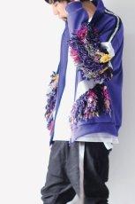 画像5: yoshio kubo / フリンジ付ジャージートップ (5)