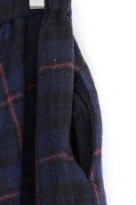 画像18: STOF / ウールチェックMIXスカート (18)