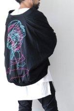 画像3: S I S E / バック刺繍バルーンブルゾン (3)