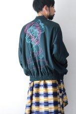 画像5: S I S E / バック刺繍バルーンブルゾン (5)