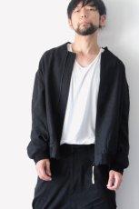 画像2: suzuki takayuki / ジップアップブルゾン (2)