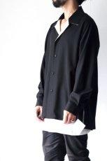画像5: ETHOSENS / オープンカラーシャツ (5)