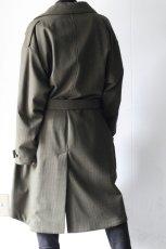 画像12: yoshio kubo / チェックステンカラーコート (12)