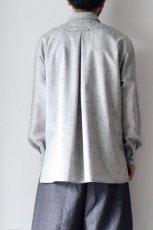 画像6: ETHOSENS /ウールネップシャツ (6)