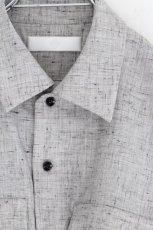 画像12: ETHOSENS /ウールネップシャツ (12)