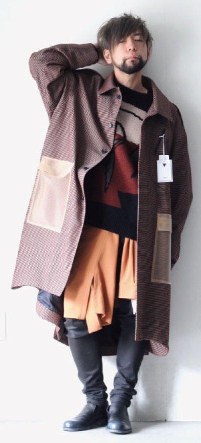 画像3: yoshio kubo / チェックステンカラーコート