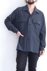 画像3: ETHOSENS / ビッグポケットシャツ (3)