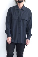 画像10: ETHOSENS / ビッグポケットシャツ (10)