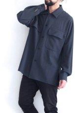 画像4: ETHOSENS / ビッグポケットシャツ (4)