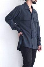 画像8: ETHOSENS / ビッグポケットシャツ (8)