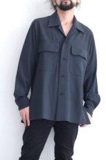 画像9: ETHOSENS / ビッグポケットシャツ (9)