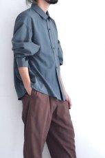 画像10: ETHOSENS / ワイドスリーブシャツ (10)