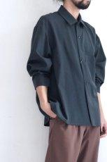 画像11: ETHOSENS / ワイドスリーブシャツ (11)