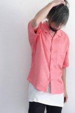 画像9: S I S E / オープンカラーシャツ (9)