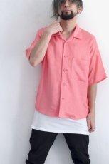 画像4: S I S E / オープンカラーシャツ (4)