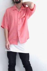 画像10: S I S E / オープンカラーシャツ (10)