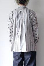 画像9: ETHOSENS / ストライプシャツ (9)