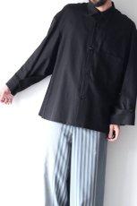 画像12: ETHOSENS / ワイドスリーブシャツ (12)