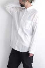 画像6: UNDECORATED / コットンローンシャツ (6)