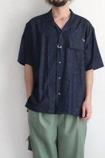 画像11: yoshio kubo GROUNDFLOOR / 半袖デニムシャツ (11)