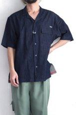 画像8: yoshio kubo GROUNDFLOOR / 半袖デニムシャツ (8)