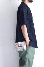 画像7: yoshio kubo GROUNDFLOOR / 半袖デニムシャツ (7)
