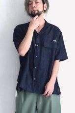 画像9: yoshio kubo GROUNDFLOOR / 半袖デニムシャツ (9)