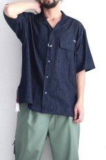 画像2: yoshio kubo GROUNDFLOOR / 半袖デニムシャツ (2)