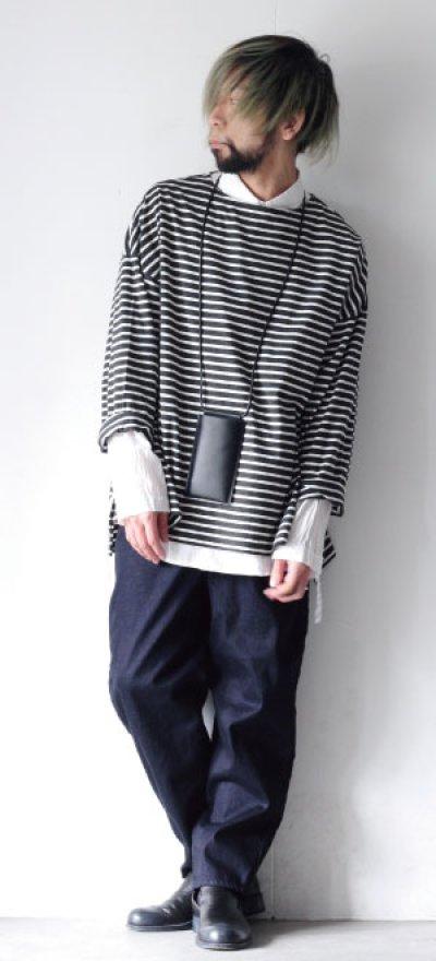 画像1: UNDECORATED / コットンローンシャツ