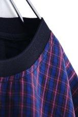 画像15: FFIXXED STUDIOUS / チェック切替Tシャツ (15)