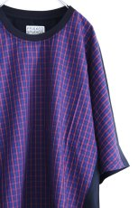 画像12: FFIXXED STUDIOUS / チェック切替Tシャツ (12)
