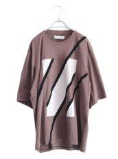 画像1: ETHOSENS / スウィッチングTシャツ (1)