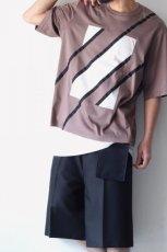 画像11: ETHOSENS / スウィッチングTシャツ (11)