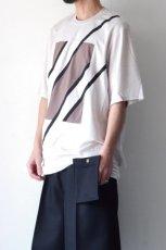 画像5: ETHOSENS / スウィッチングTシャツ (5)