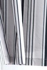 画像17: ETHOSENS / ツイストストライプワイドスリーブシャツ (17)