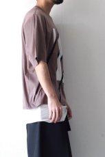 画像9: ETHOSENS / スウィッチングTシャツ (9)