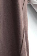 画像17: ETHOSENS / レイヤーVネックTシャツ (17)