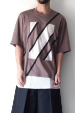 画像4: ETHOSENS / スウィッチングTシャツ (4)