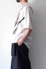 画像6: ETHOSENS / スウィッチングTシャツ (6)