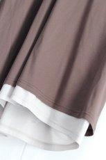 画像15: ETHOSENS / レイヤーVネックTシャツ (15)