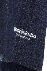 画像16: yoshio kubo GROUNDFLOOR / デニムプルオーバーシャツ (16)