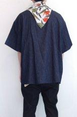 画像10: yoshio kubo GROUNDFLOOR / デニムプルオーバーシャツ (10)