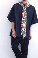 画像9: yoshio kubo GROUNDFLOOR / デニムプルオーバーシャツ (9)